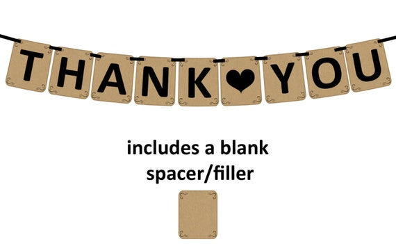 Obsessed image with thank you banner printable