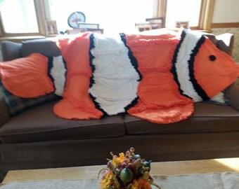 Clown Fish Rag quilt