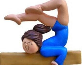 Gymnast Personalized Gymnastics Ornament