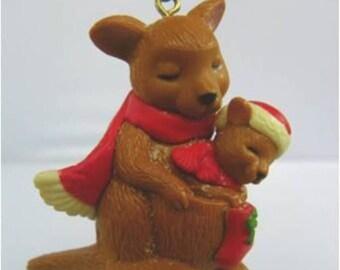 "VINTAGE AVON CHRISTMAS - ""Hoppy Holidays"" Tree Ornament 1983"