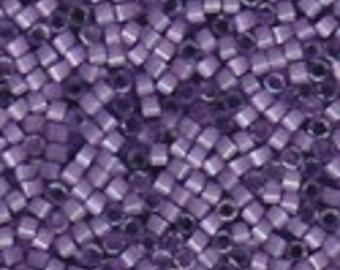 MIYUKI #11 Delica 1809 - Dyed Lilac Silk Satin - 5 grams