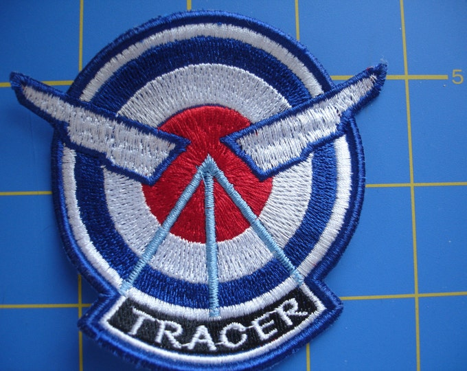 OVERWATCH TRACER PATCH Embroidered Patch 4 Your Overwatch Tracer Cosplay Costume Blizzard Jacket Video Game Prop Custom Iron Sew Patches