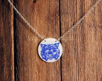 University of Kentucky Wildcats Necklace/UK Wildcats/Classic Wildcats/KY Wildcats