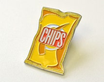 Bag of Chips Pin