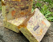 Chai Spiced Shea Butter Handmade Vegan Soap with Coconut Milk