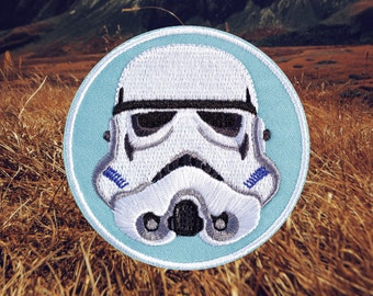 Star Wars Storm Trooper Patch (Free Shipping US)