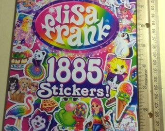 Lisa Frank the 3rd official collector's set 1885 stickers