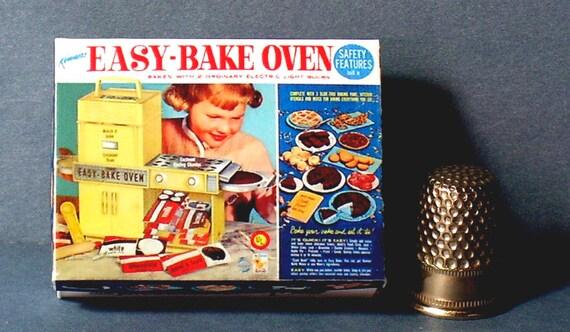 Easy Bake Oven Box 1964 Dollhouse Miniature 1 12 Scale