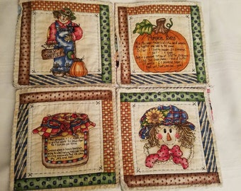 7 Handmade Quilted Pot Holders