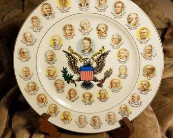 200 Years of Presidents Plate