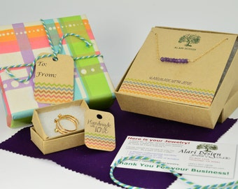 Gift wrapping add on - For all Michael Alari Design Jewelry, Alari Design, alaridesign, Alari