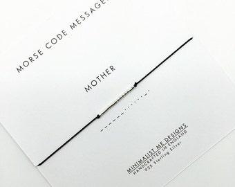 MOTHER - Morse Code Bracelet