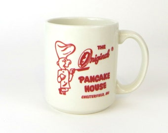 Vintage The Original Pancake House diner mug