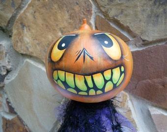 Halloween Gourd Head Holiday Home Decor Figure