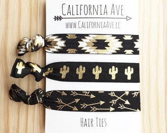 Southwest Hair Tie Set of 3