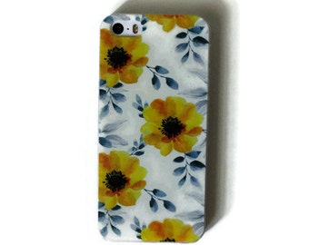 Yellow Flowers iPhone 5s Case