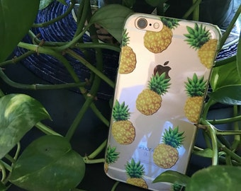 Pineapple Hard iPhone 6 Case