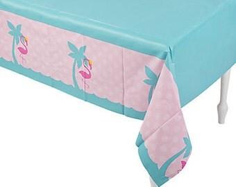Flamingo Party Tablecloth /flamingo theme /Flamingo /