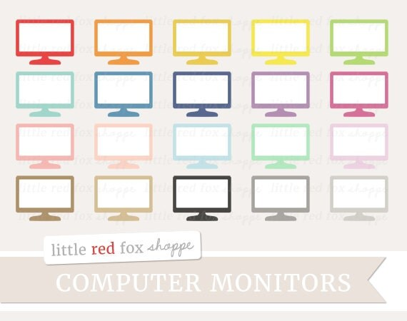 Computer Monitor Clipart Computer Screen Clip Art Desktop