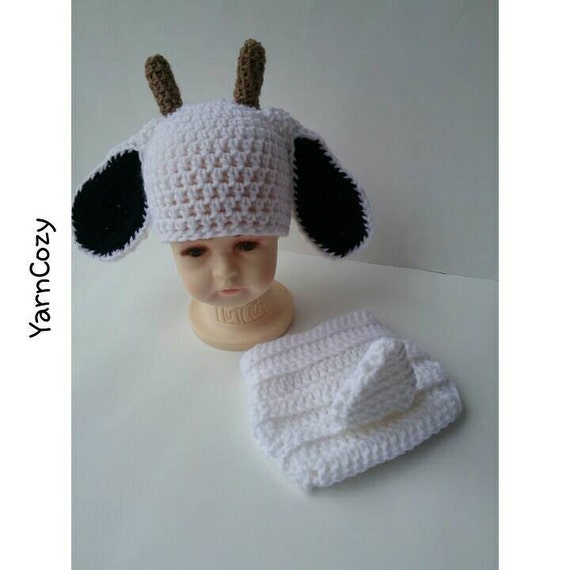 Baby Goat Hat Farm Baby Shower Farm Baby Clothes Baby Boy