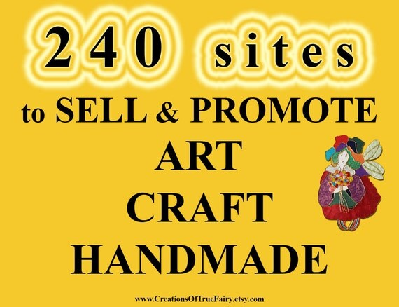 websites to sell handmade items 240 to sell and promote craft by 3380