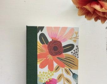 Flower Journal, Medium, Blank