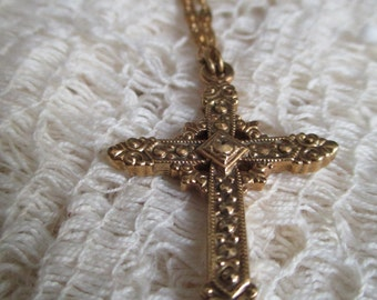 1928 Cross Necklace