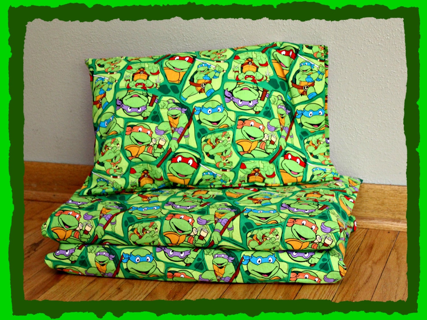 Tmnt Nap Mat Cover Amp Pillow Case Kindermat Cover Fits Size