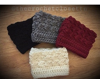 ON SALE Special Pricing!   1 pair   crochet boot cuffs   boot cuff