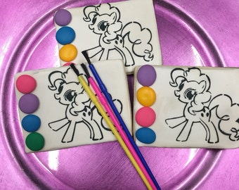 My little pony Paint your own cookie set.... Decorated sugar cookies
