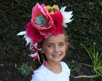 Child Day of the Dead Headband / Dia de los Muertos Costume