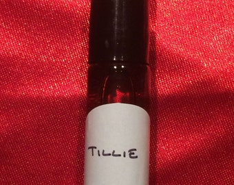 Tillie 5ml roll-on perfume - dark patchouli, lemon, tomato leaf, bitter orange, neroli