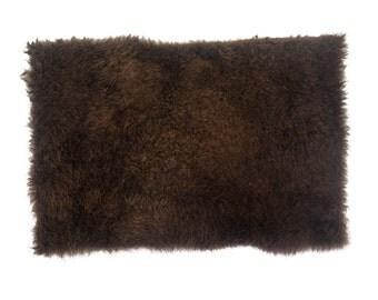 "Buffalo Hide Robe Project Piece 12""x18"""