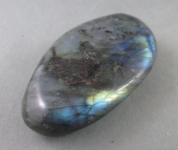 The Wizards Stone Labradorite Stone Magical Black