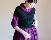 For Ripsimeh - Sontag - Wrap Shawl - Jersey Knit wrap shawl reenactment shawl modest shawl nursing shawl infinity shawl