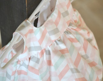 Newborn baby dress, coming home dress