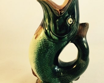 English Gurgling Pitcher From the Late 1800's