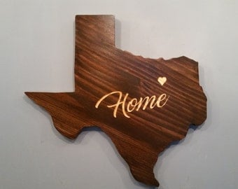 Rustic Texas State Decor