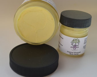 Original Whipped Body Butter, moisturizing, all natural, hydrating, 1 oz
