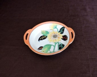 Vintage 1920's Noritake Sunflower Dish
