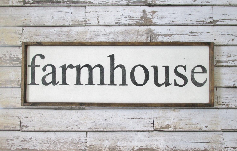 farmhouse wood signs farmhouse decor rustic signs wooden. Black Bedroom Furniture Sets. Home Design Ideas