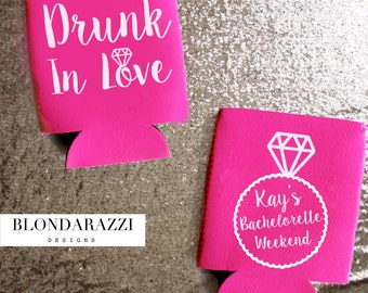Drunk In Love Personalized Bachelorette Party Favors