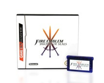 Fire Emblem SWORD of SEAL - Fan Translation for the Gameboy Advance GBA! - Available Game Only or Game in Box!