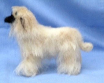 AFGHAN HOUND Needle felted