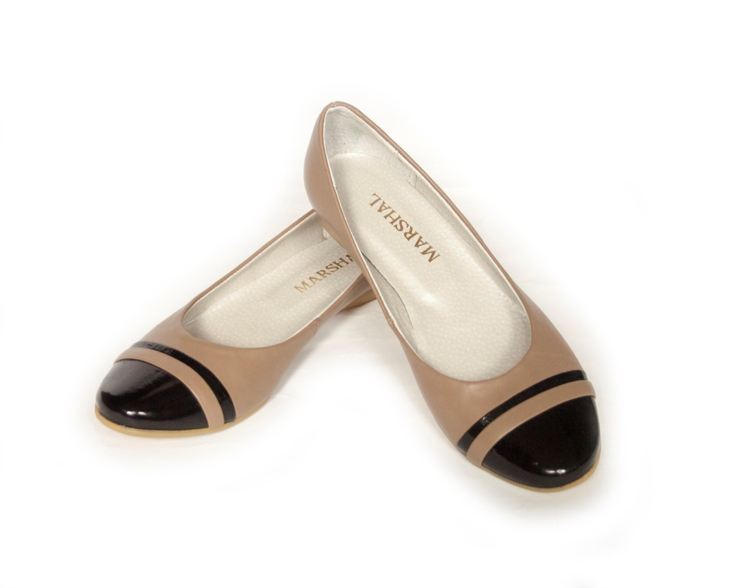 Find beige ballerina flats at ShopStyle. Shop the latest collection of beige ballerina flats from the most popular stores - all in one place.