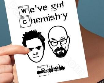 Anniversary Card | Breaking Bad Card | I Love You Card Funny Anniversary Walter White Jesse Pinkman Boyfriend Card Husband Card Girlfriend