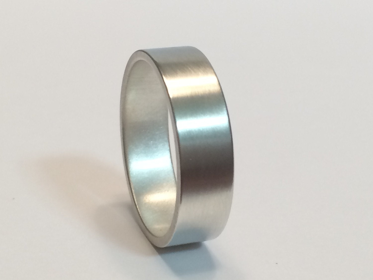 how to give sterling silver a brushed finish