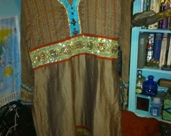 Georges vintage Indian tunic dress