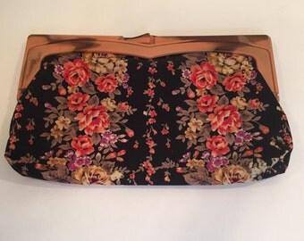 Vintage Floral Clutch