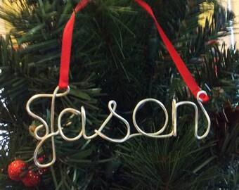Personalized Family Ornament,Jason ornament